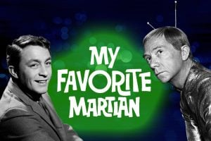 My Favorite Martian retro 60s TV show