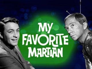 My Favorite Martian retro 60s TV show