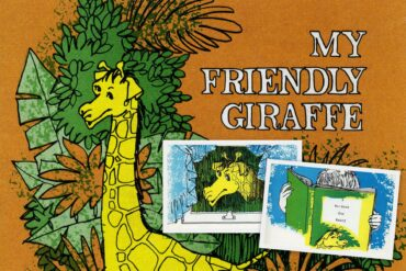 My Friendly Giraffe A Me-Book - retro personalized books from the '70s