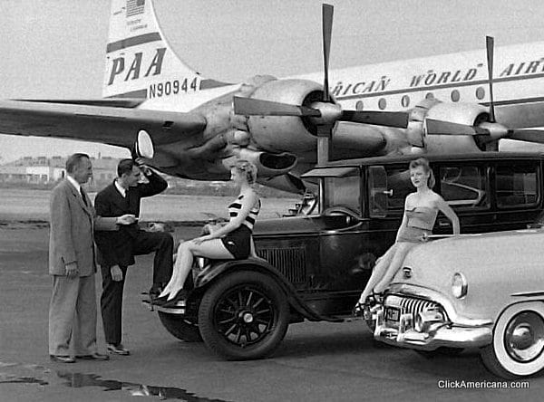 Clues in Hawaii-bound Pan-Am airline crash (1958)
