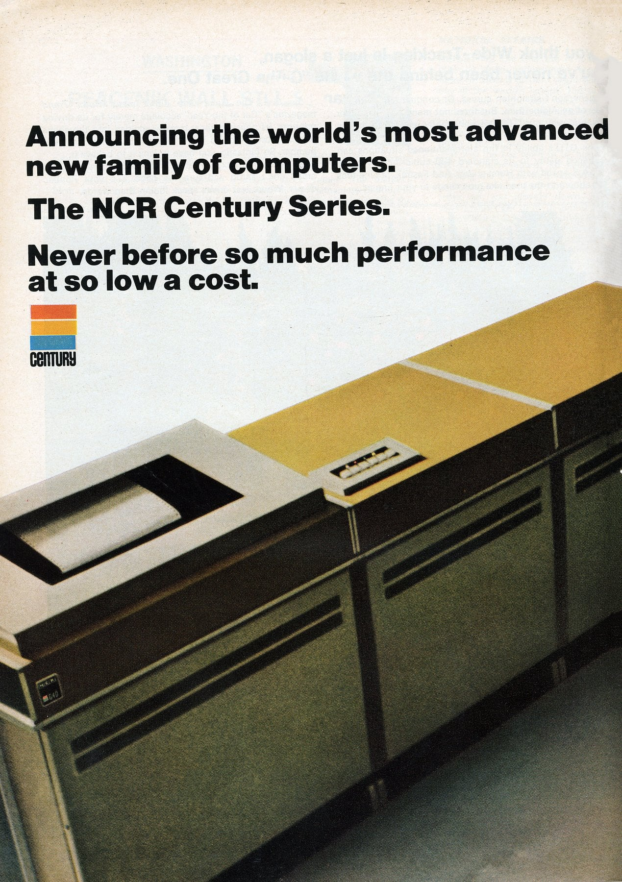 NCR Century Series business computers - March 1968 (1)