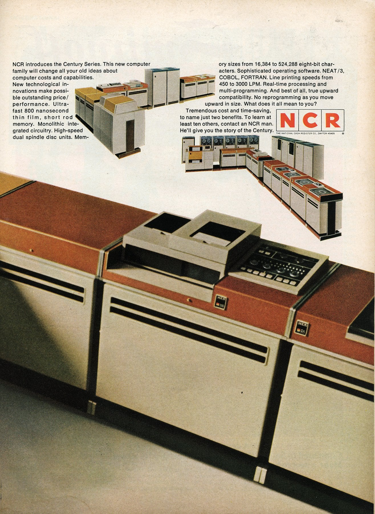 NCR Century Series business computers - March 1968 (2)