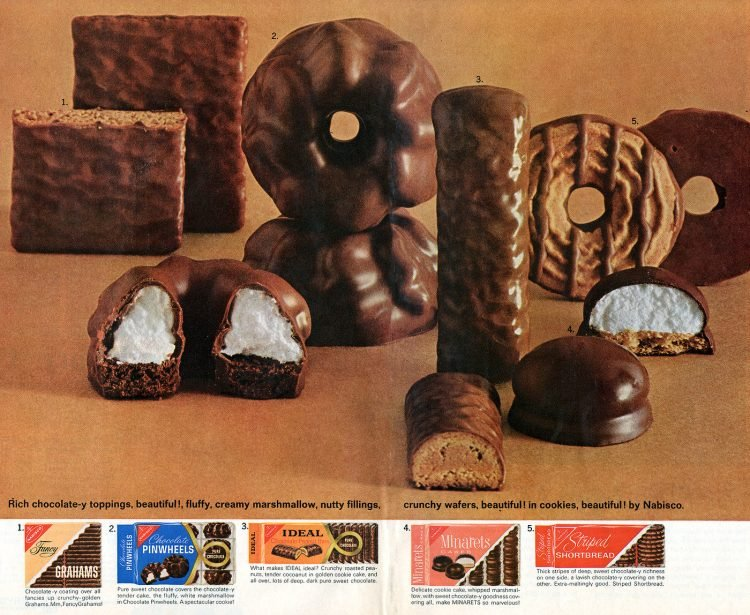 Nabisco old-school packaged cookies from 1964