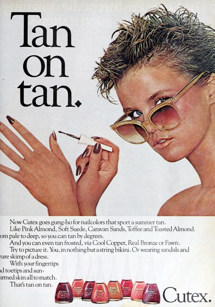 Nail polish ads of the '80s - L'Erin (1981)