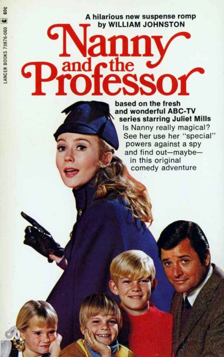 Nanny & the Professor: A classic TV sitcom from 1970, with a psychic nanny, a no-nonsense dad, and 3 kids - Click Americana