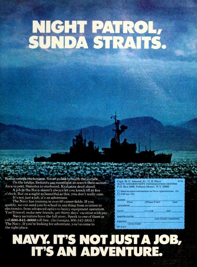 Navy - It's not just a job - it's an adventure ads 1970s (5)