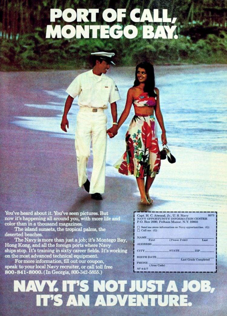 Navy - It's not just a job - it's an adventure ads 1970s (6)