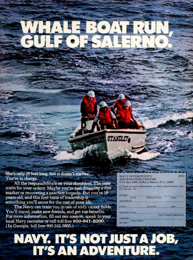 Navy - It's not just a job - it's an adventure ads 1970s (7)