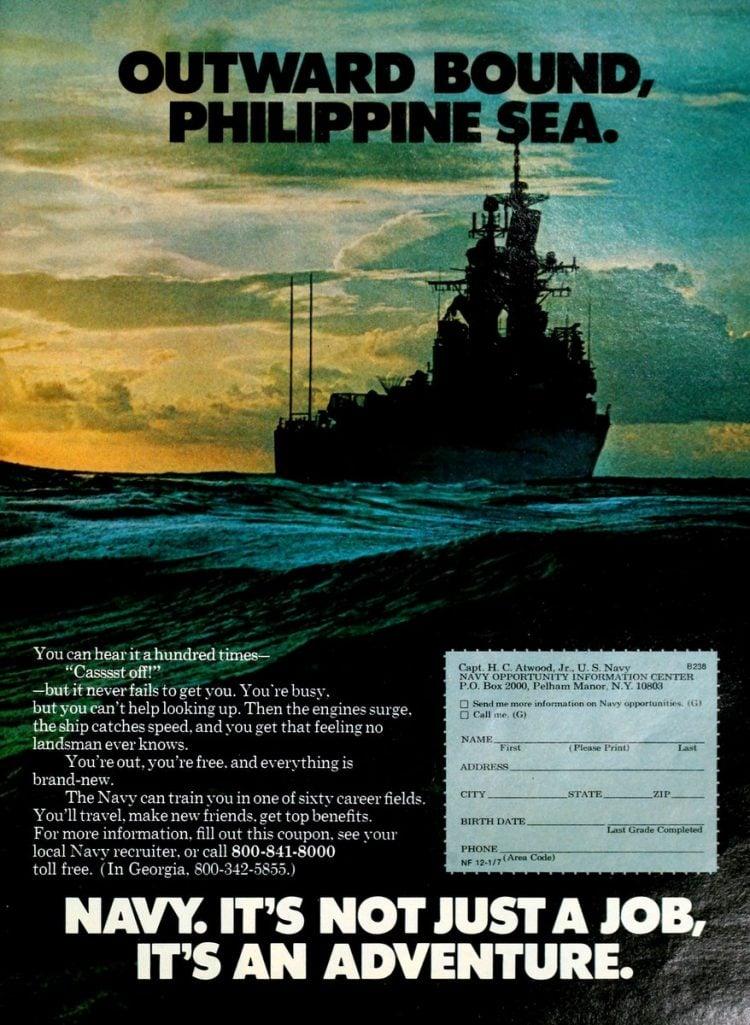 Navy - It's not just a job - it's an adventure ads 1970s (8)