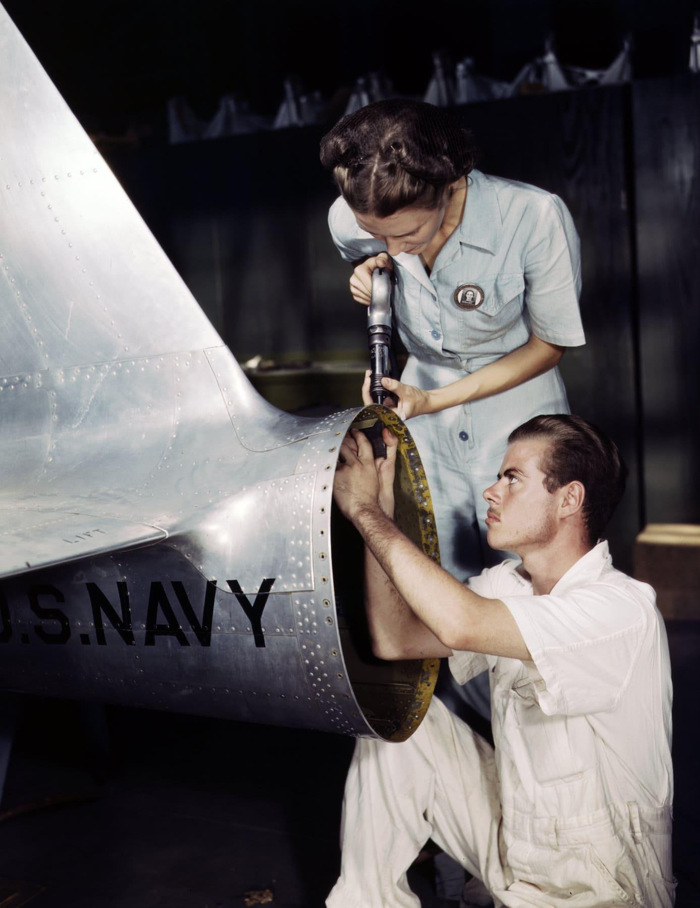 Navy assembly and repair department riveter