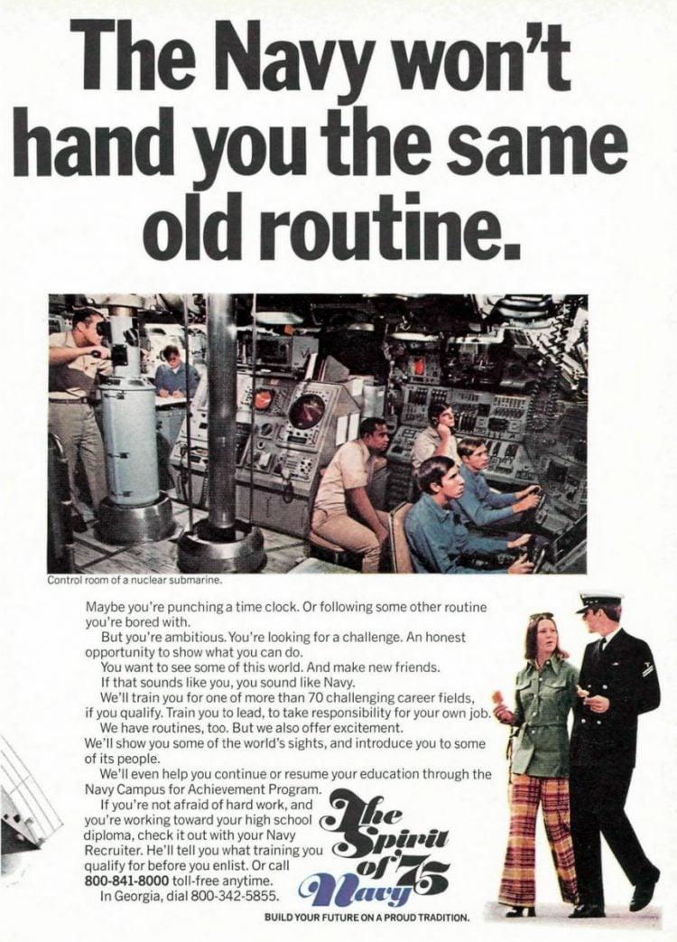 Navy recruitment 1975 (3)