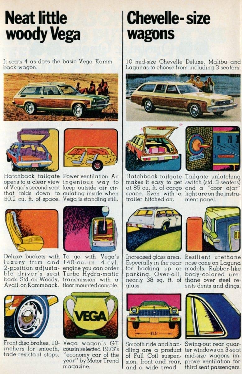 Neat little woody Vega & Chevelle-size wagons