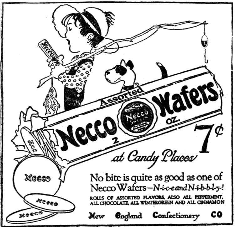 Necco Wafers 1920