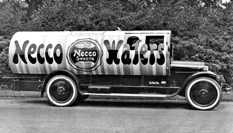 Necco Wafers truck