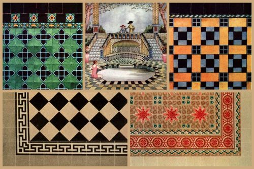 Need vintage home restoration inspiration Here are 50 tip-top tile designs of the '20s