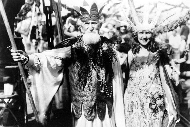Neptune (Hudson Maxim), Miss America (Margaret Gorman) 1922