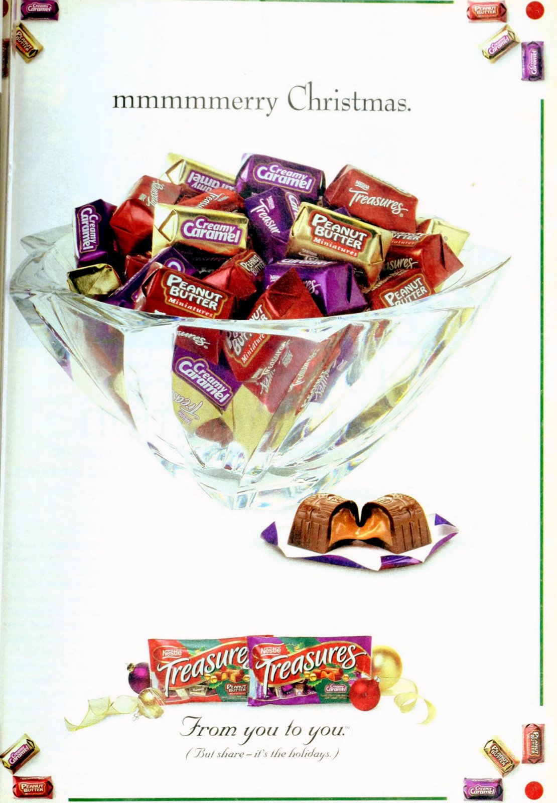 Nestle Treasures candy (1999)