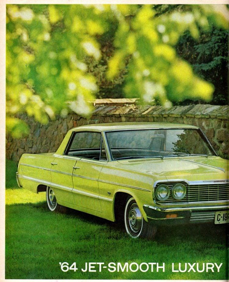 New '64 Chevrolet cars (1)