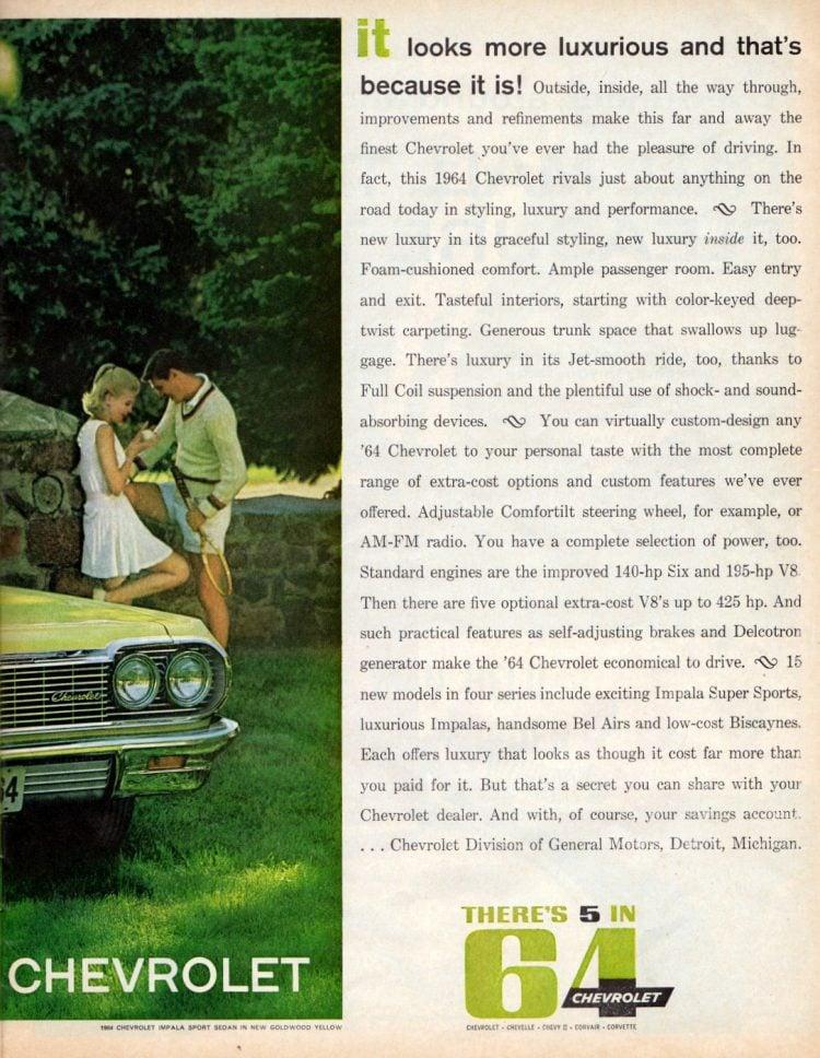 New '64 Chevrolet cars (2)
