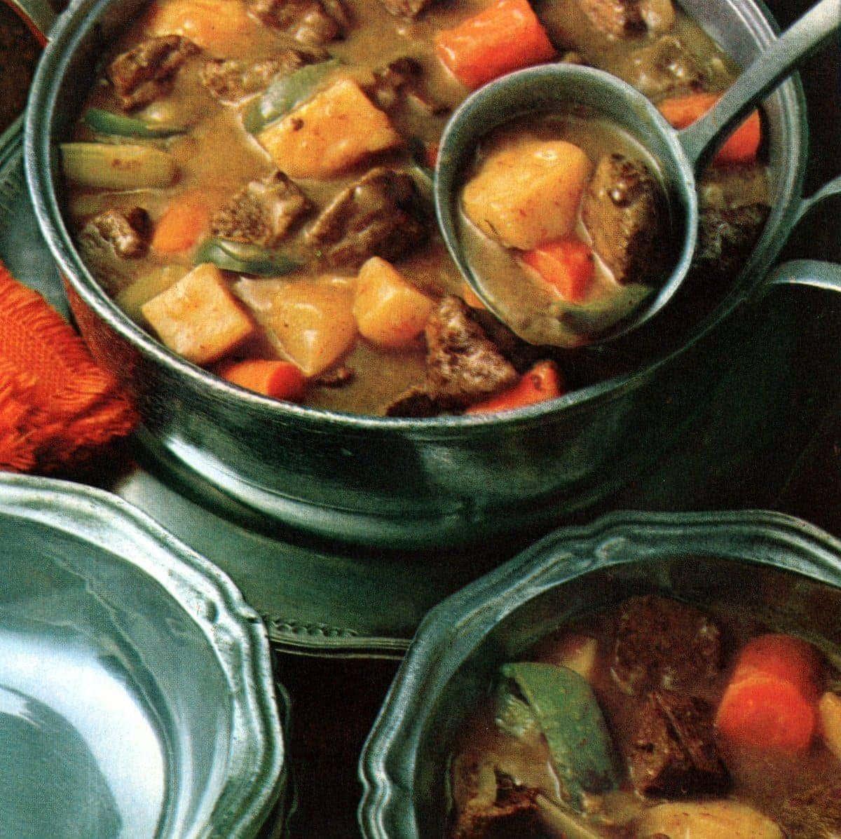 New England beef stew recipe