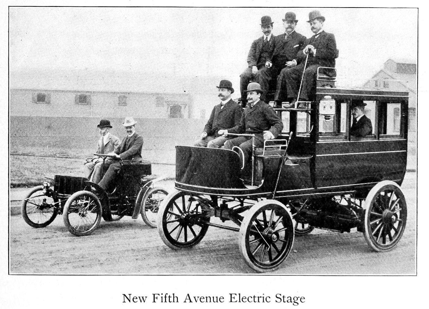 New Fifth Avenue electric stage (1899)