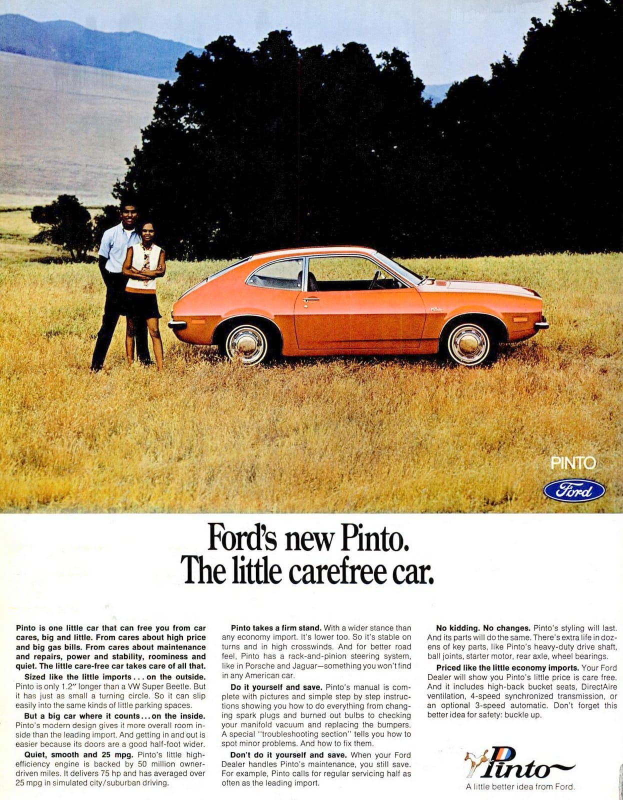 New Ford Pinto - May 1971