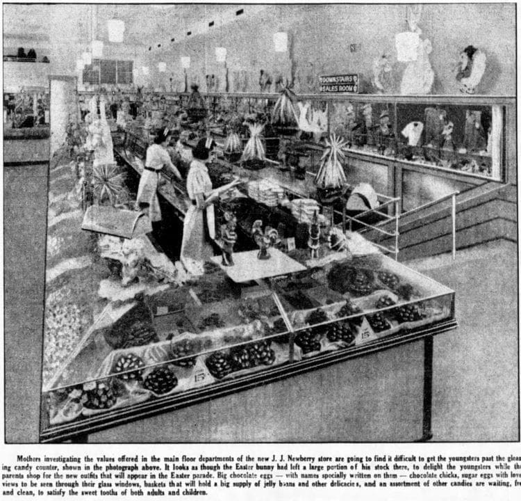 New Jersey candy shop 1939