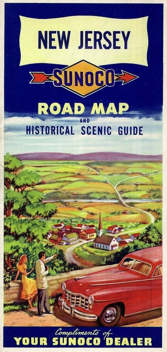 New Jersey roadmap from 1948