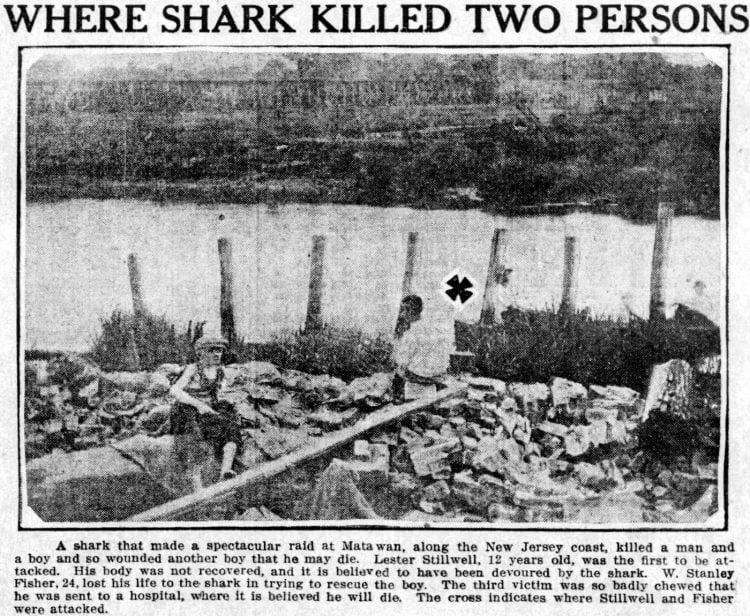 New Jersey shark attacks from July 1916 (4)