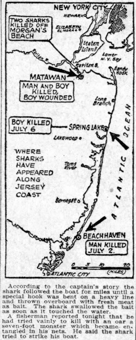 New Jersey shark attacks from July 1916 (5)