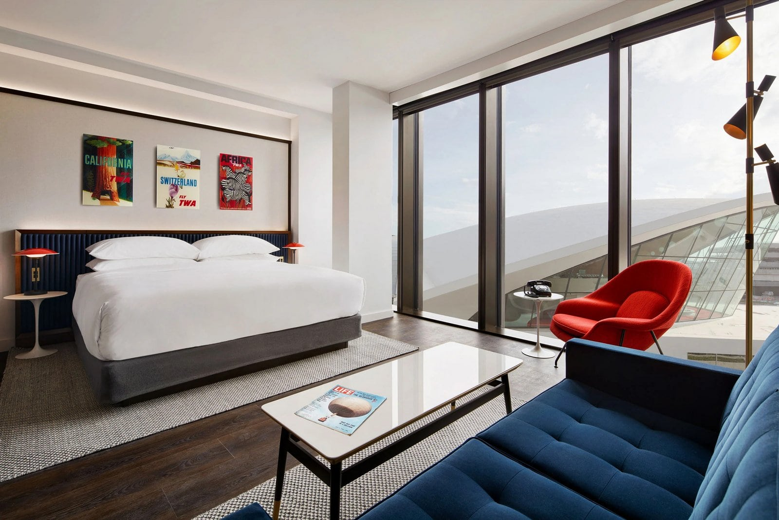 New TWA Hotel Executive King Suite with views