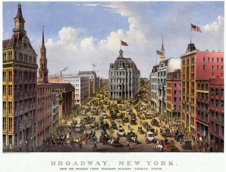 New York City in the 1880s - Victorian era NYC US life expectancy