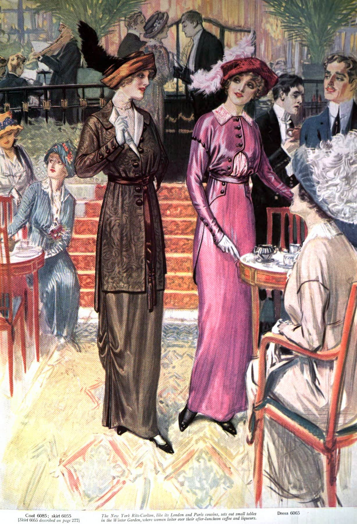 New York Ritz Carlton 1913 - ClickAmericana com