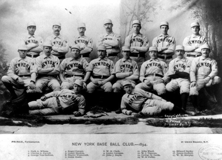 New York base ball club 1894