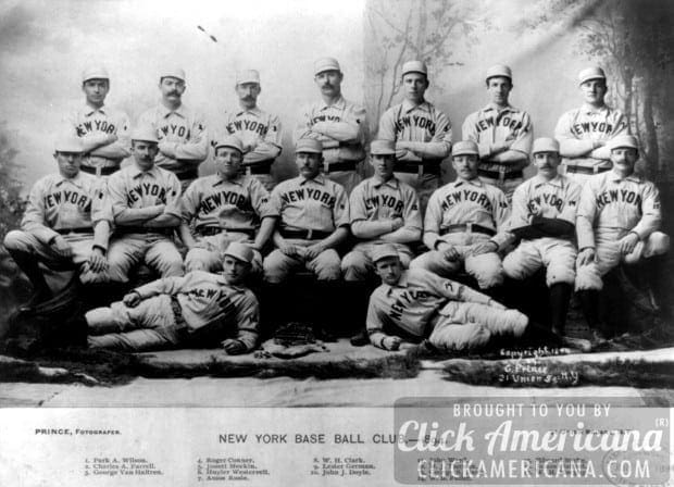 The New York Giants baseball team in 1894