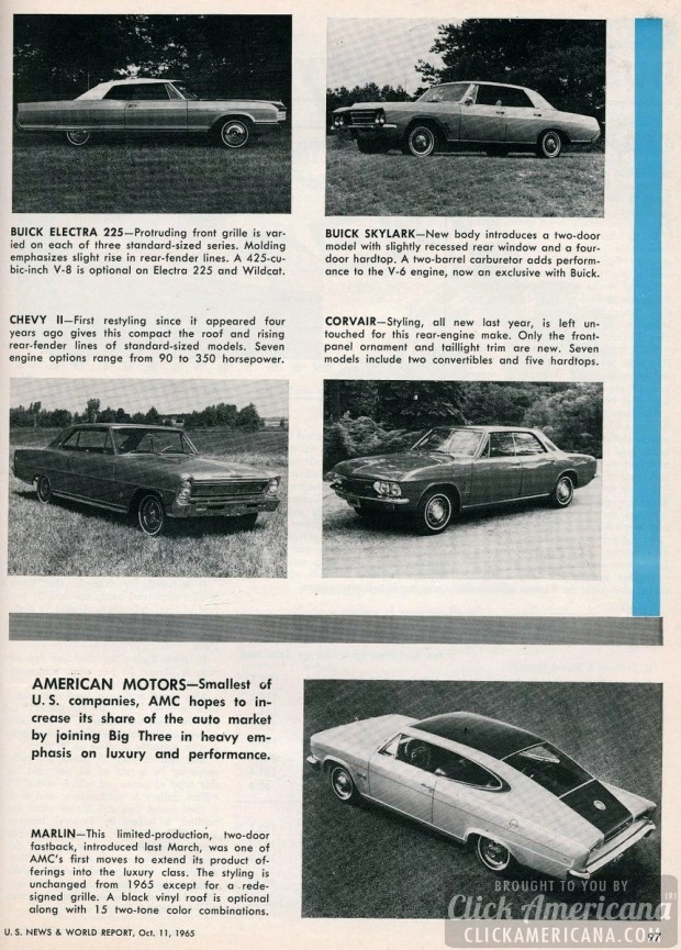 New cars for 1966 The lure of luxury-1965 (1)