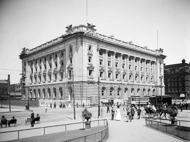 New post office, Cleveland, Ohio