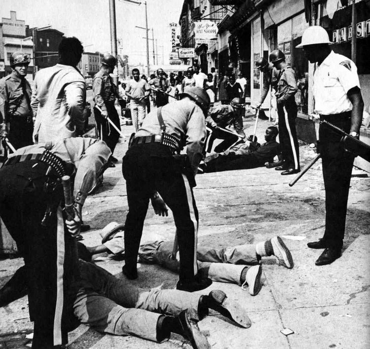 Newark riots July 1967