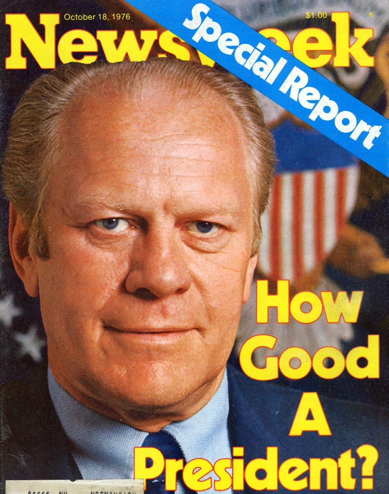 Newsweek - October 18 1976 - President Ford