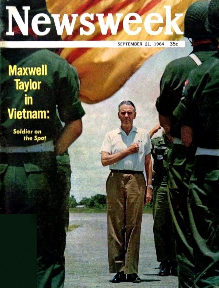 Newsweek - September 21, 1964 - Maxwell Taylor in Vietnam