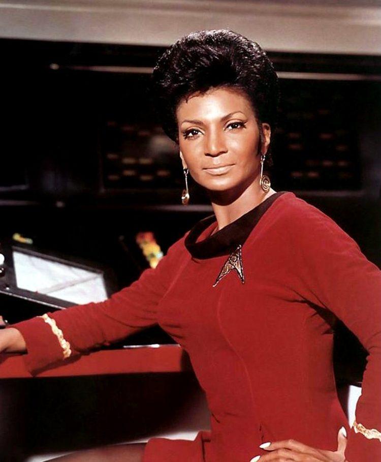 Nichelle Nichols on Star Trek