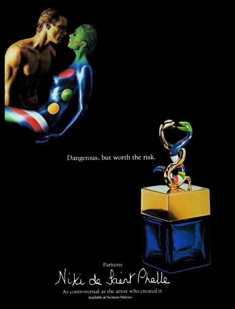 Niki de Saint Phalle perfume vintage 1984