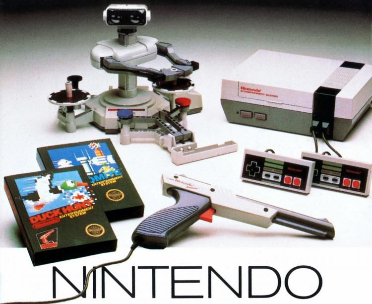Nintendo Entertainment System NES 1987 (2)