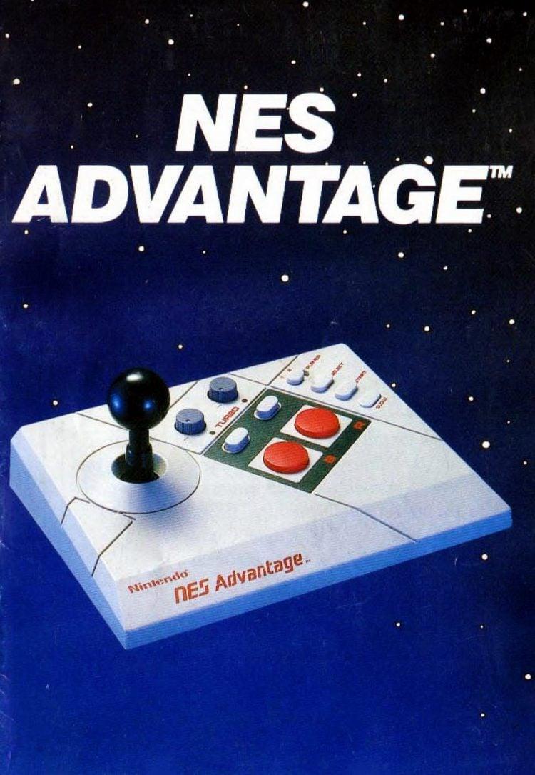 Nintendo Entertainment System NES Advantage controller