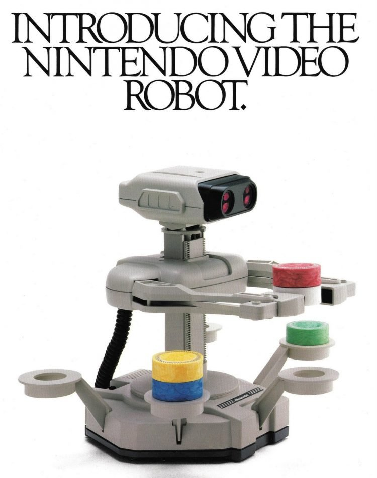 Nintendo Entertainment System NES Robot 1985