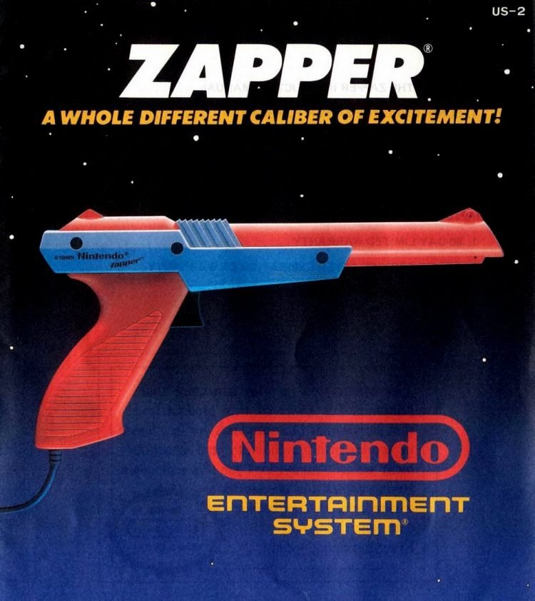 Nintendo Entertainment System NES Zapper 1989