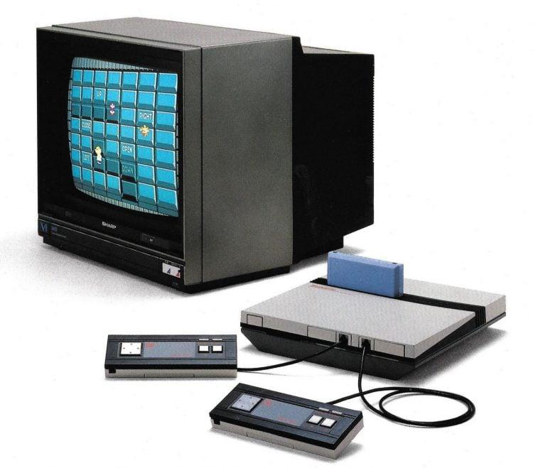 Nintendo Entertainment System NES early prototype 1985