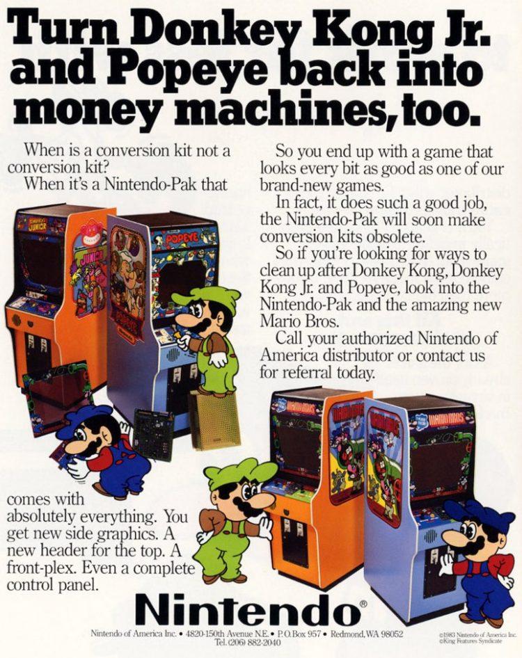 Nintendo arcade games