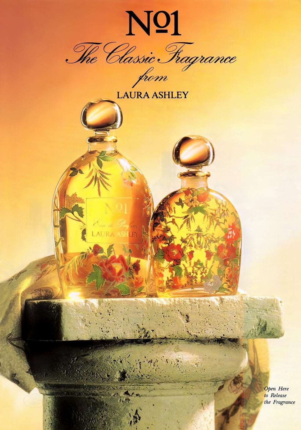No 1 classic fragrance from Laura Ashley (1992)