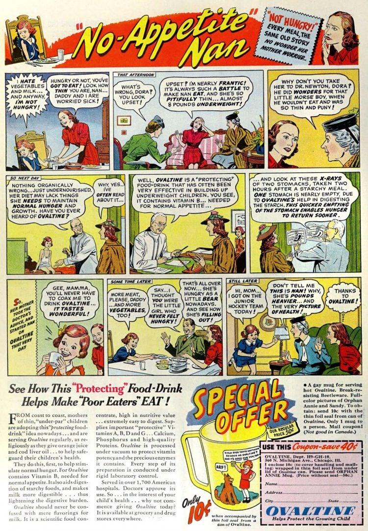 No-Appetite Nan - Ovaltine (1939)